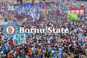 Buhari prays for victims of crashed pavilion in Maiduguri
